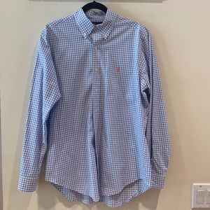 Gingham Ralph Lauren Button Up Shirt